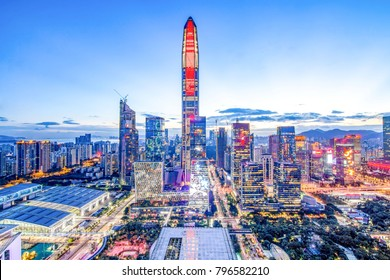 Shenzhen safe skyline