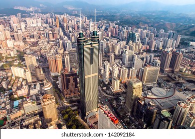 Shenzhen view from above