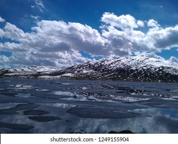 Sheosar Lake Deosai National Park Skardu Pakistan