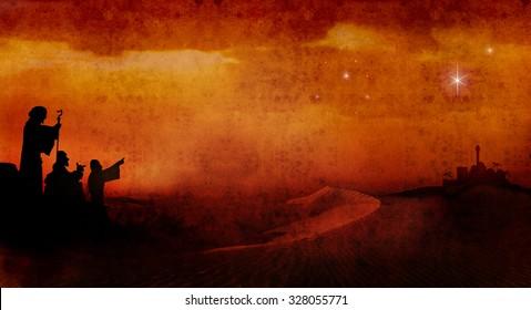 shepherds across desert 3