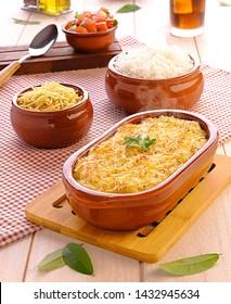 Shepherd's Pie (Escondidinho de Carne Seca) - Traditionelle brasilianische Küche