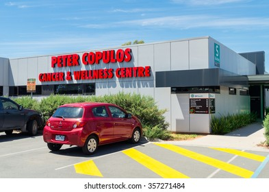 Shepparton, Australia - December 30, 2015: Peter Copulos Cancer & Wellness Centre at Goulburn Valley Health in Shepparton provides specialist oncology services to the Goulburn Valley region.