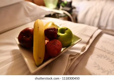 Sheraton Vancouver Airport Hotel, Vancouver, US. 30 Apr, 2018 - The fresh fruits given to welcome guests