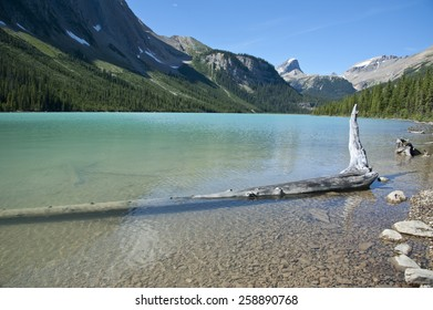 Sherbrooke Lake, Yoho National Park, British Columbia, Canada