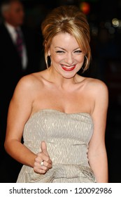 """Sheridan Smith at the premiere for """"Quartet"""" being shown as part of the London Film Festival 2012, Odeon Leicester Square, London. 15/10/2012 Picture by: Steve Vas"""