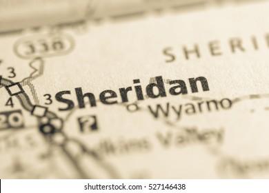Sheridan. Wyoming. USA