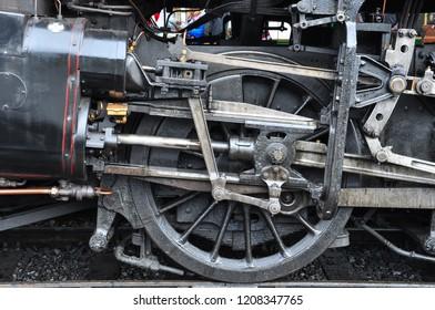 SHERINGHAM, NORFOLK/UK - September 20, 2018. Standard Class 4 2-6-0 No 76084, North Norfolk Railway at Sheringham, Norfolk, England