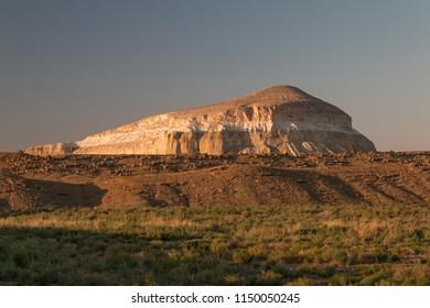 Sherkala mountain the lions fortress, Mangystau, Kazakhstan, Central Asia