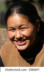 Sherpa Woman Smiling