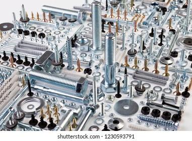 shers, screws, saws, popnets, dowels, anchors, hinges, folds, rivets