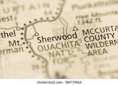 Sherwood. Oklahoma. USA