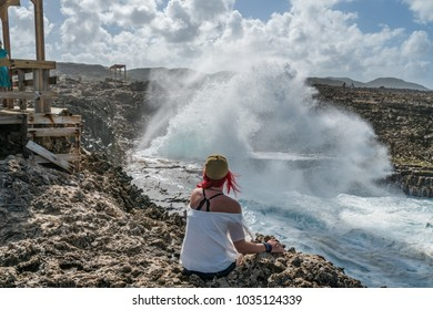 Shete Boka National park Views around the small Caribbean island of Curacao