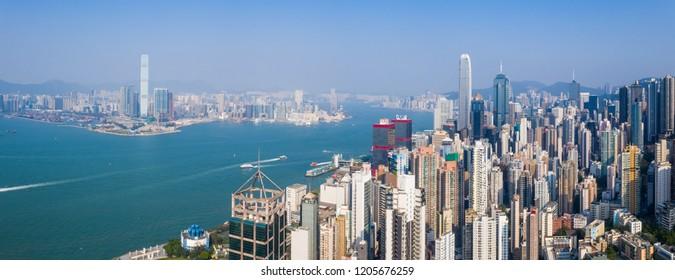 Sheung Wan, Hong Kong, 02 October 2018:- Hong Kong city