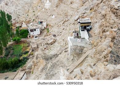 Shey palace in Leh Ladakh, Jammu and Kashmir, India