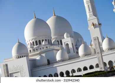 Sheykh Zayed mosque, Abu-Dhabi, United Arab Emirates