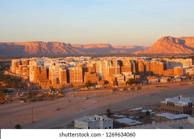Shibam, the historical capital of the Hadramaut region in Yemen