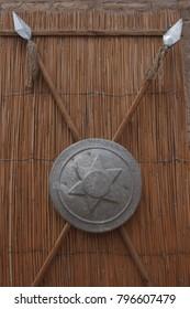 Shield an lances