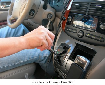 shifting gears in a car