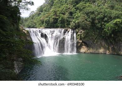 Shihfen Waterfall , Taipei City , Taiwan