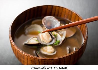 shijimi clam miso soup