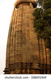 Shikara decorations on the Parsavanatha, Jain Temple, Khajuraho, India