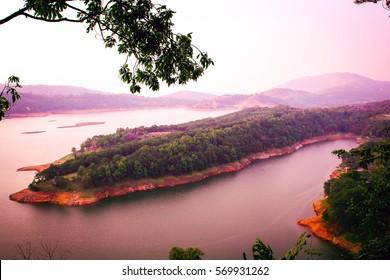 Shillong, Umiam Landscape, beauty of nature