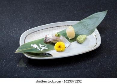 Shima aji sushi the great taste of Japanese food