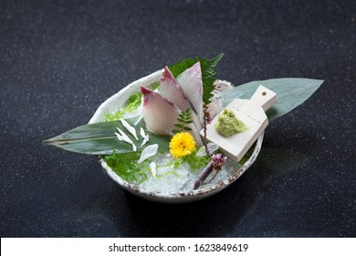 Shima aji the taste of Janpanese sashimi from the best island
