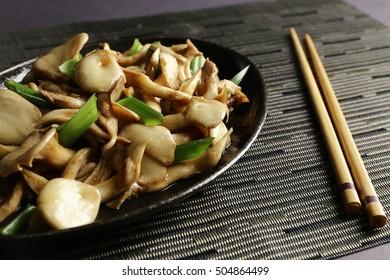 shimeji  mushroom japanese meal food
