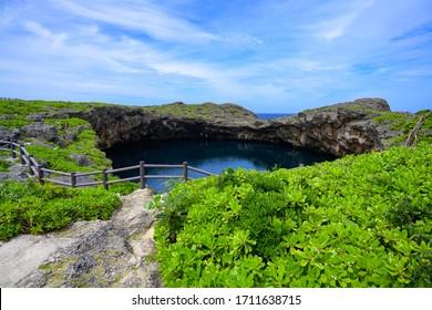 沖縄県下地島鳥池