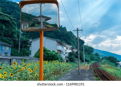 "Shimonada Station(Railway station on the Yosan Line in Iyo, Ehime Prefecture, Japan. It is operated by JR Shikoku and has the station number ""S09"")"