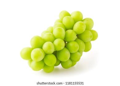 Shine Muscat. Japanese grapes.