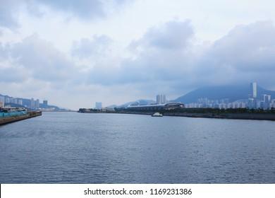 the Shing Fung Road at kai tak bridge