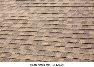 Shingles Texture on a Roof.