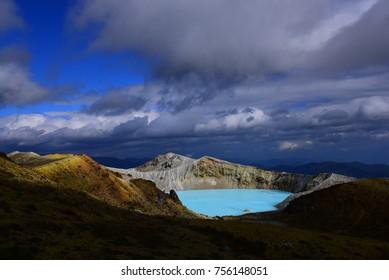 Shining Blue Lake