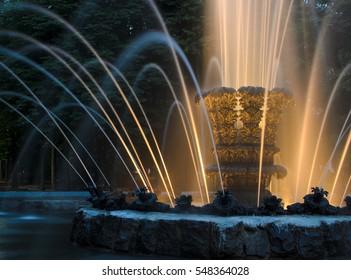 Shining Fountain in park