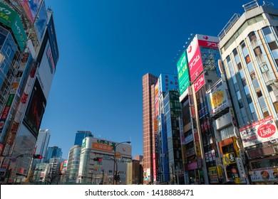 Shinjuku, Kabukicho, Tokyo, Japan, January 2019, Cityscape