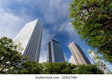 Shinjuku subcenter, High-rise buildings of Nishi-Shinjuku, Tokyo