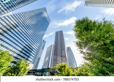 Shinjuku Tall Buildings Group/Shinjuku is a city in Japan