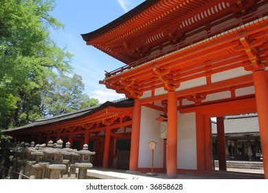 Shinto Shrine, Kasuga Taisha in Nara, Japan