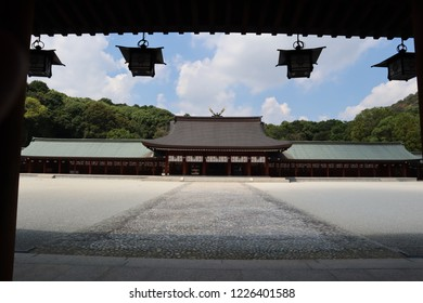 Shinto-shrine, Nara prefecture in Japan