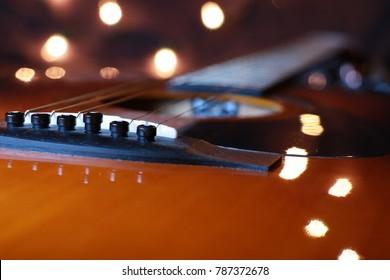 Shiny Acoustic Guitar