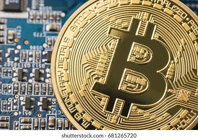 Shiny Bitcoin crypto-currency