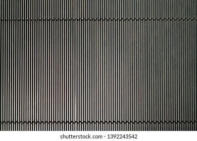 Shiny black escalator pattern texture background