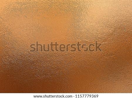 Shiny bronze foil texture