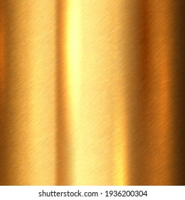 Shiny brushed metallic gold background texture. Bright polished metal bronze brass plate. Sheet metal glossy shiny gold - Shutterstock ID 1936200304
