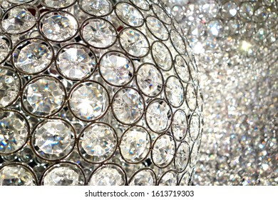 Shiny crystal balls & lamps with amazing bling and luxurious factor