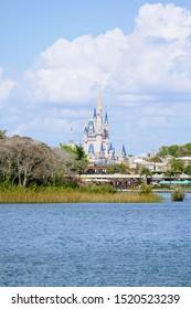 Shiny day in Disneyland Orlando