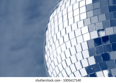shiny discoball background