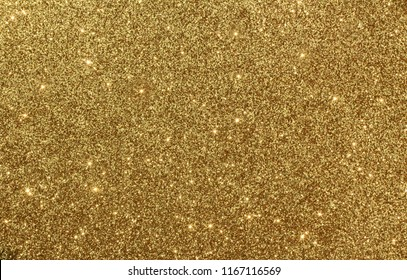 Shiny gold giltter texture christmas abstract background